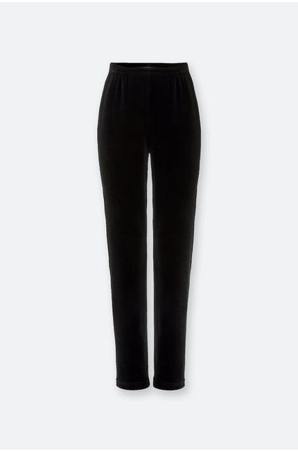 Photo of Velvet Jersey Slim Trouser