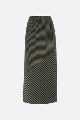 Photo of Double Stripe Jersey Skirt