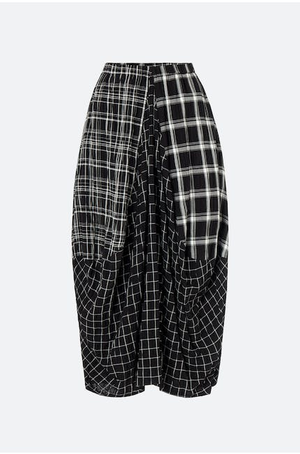 Photo of Mono Patch Check Skirt