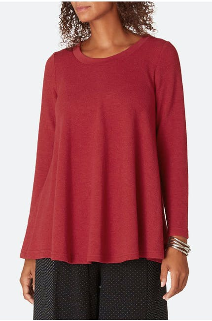 Jersey Crepe Swing Top
