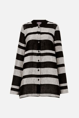 Photo of Linen Stripe Shirt