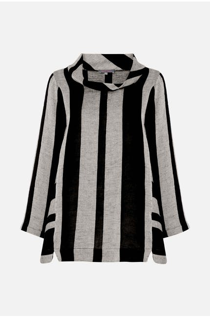 Linen Stripe Tunic
