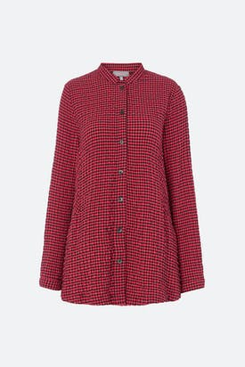 Photo of Crinkle Gingham Shirt