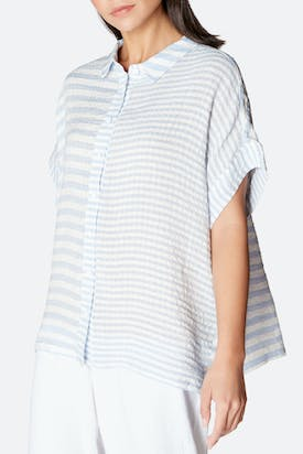Photo of Seersucker Stripe Shirt