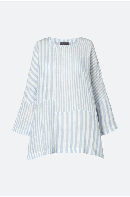 Seersucker Stripe Easy Top