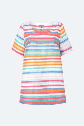 Photo of Stripe Linen Top