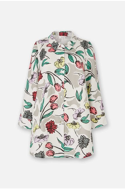 Sketchbook Flower Shirt