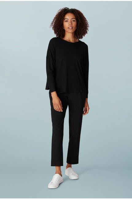 Crepe Jersey Relaxed Top