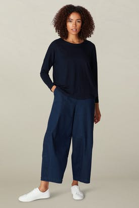 Photo of Crepe Jersey Relaxed Top