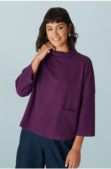 Photo of Speckled Brush Jersey Top