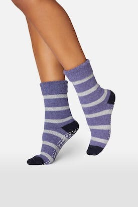 Photo of Wool-Blend Slipper Socks