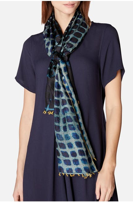 Blotted Square Scarf