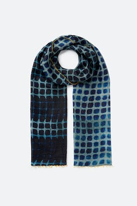 Photo of Blotted Square Scarf