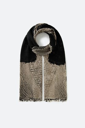 Photo of Silk Tassel Scarf