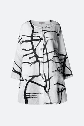 Photo of Abstract Linen Shirt