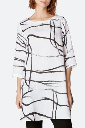 Photo of Abstract Linen Top