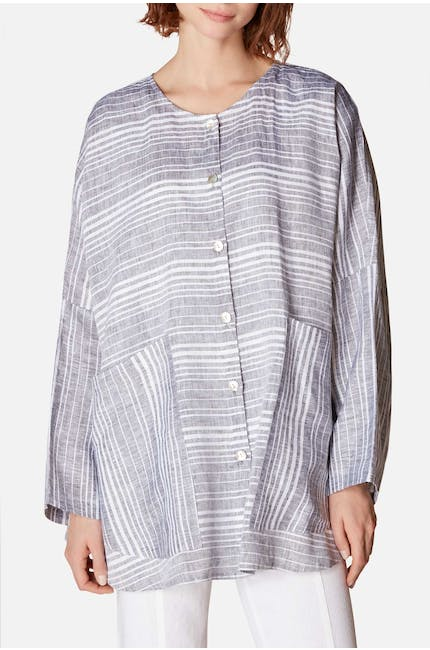 Thanny Stripe Pocket Jacket