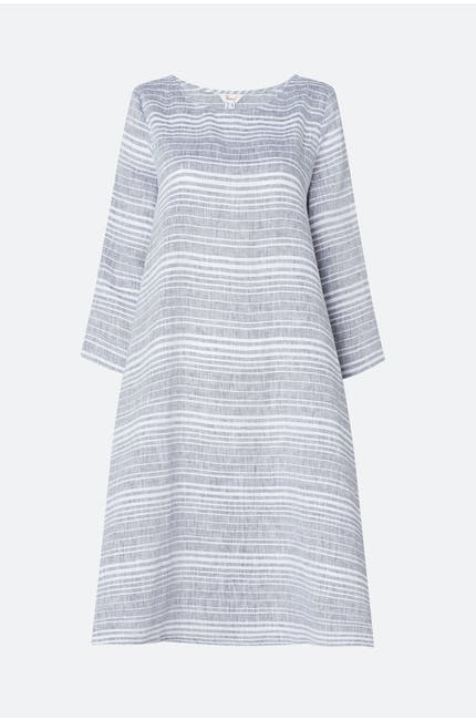 Thanny Stripe Flare Dress
