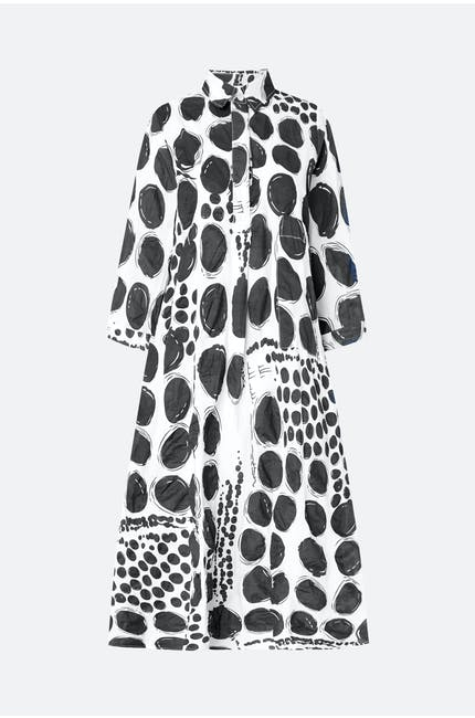 Thanny Spots Shirt Dress