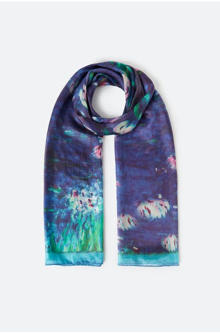 Photo of Water Lily Silk Scarf