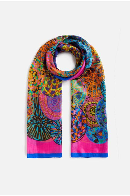Photo of Printed Silk Scarf