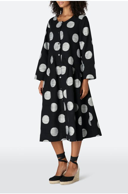 Photo of Spot Weave Shirt Dress