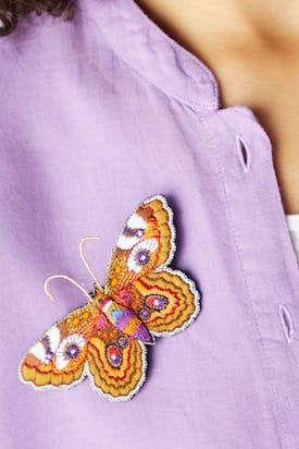 Photo of Intricate Butterfly Brooch