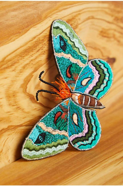 Photo of Detailed Butterfly Brooch
