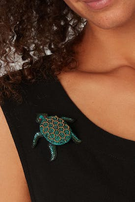 Photo of Turtle Brooch