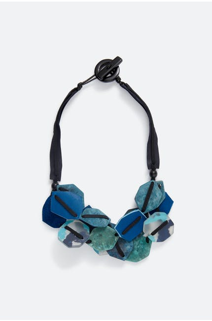 Woven Shapes Necklace