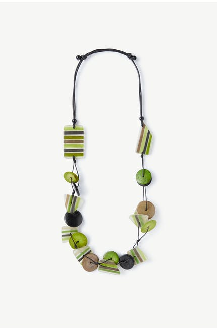 Green Detail Necklace