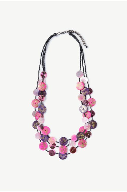Photo of Button Detail Necklace