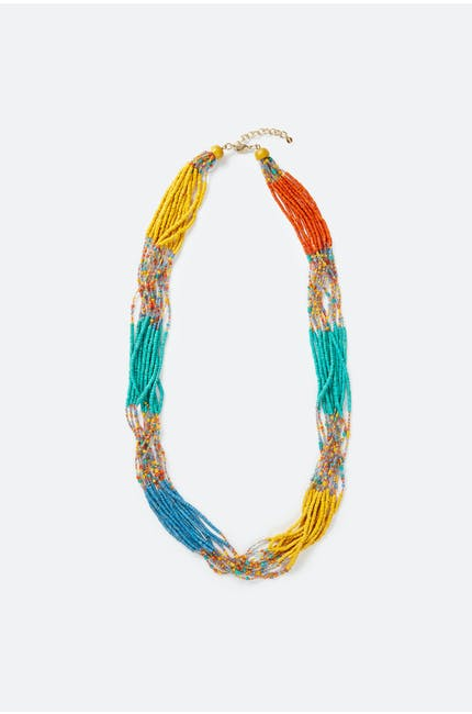 Photo of Multicoloured Bead Necklace