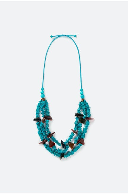 Turquoise Detail Necklace