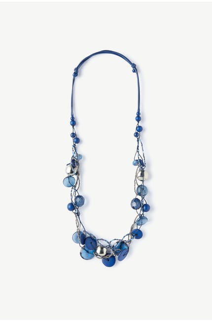 Photo of Blue Beaded Necklace