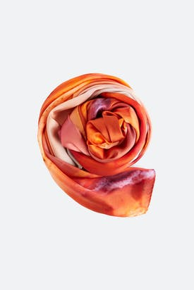 Photo of Armeria Agate Silk Scarf
