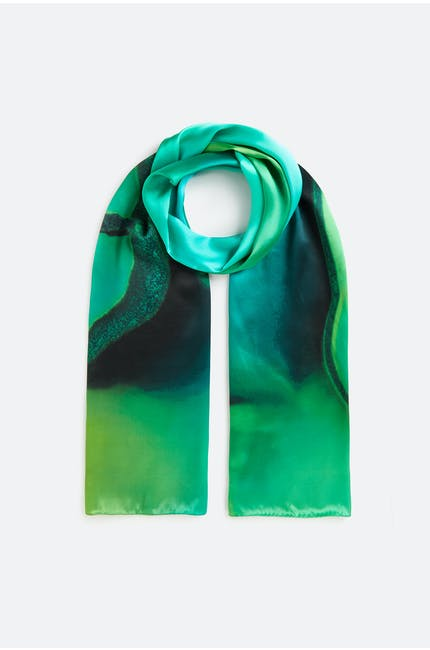 Photo of Emerald Agate Scarf