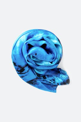 Photo of Hibiscus Fossil Silk Scarf