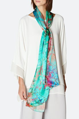 Photo of Viola Silk Scarf