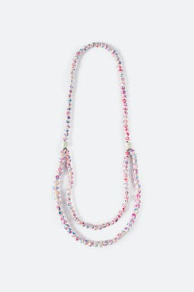 Photo of Fuchsia Planet Necklace