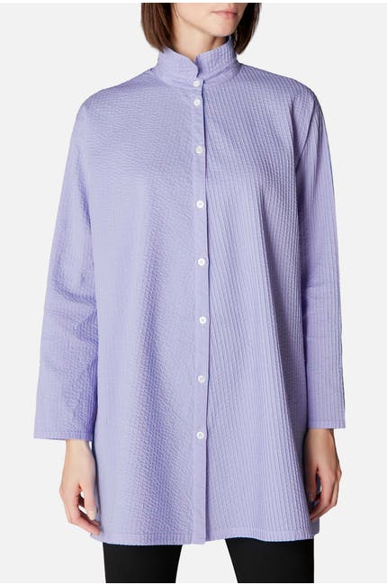 Long Pintuck Shirt