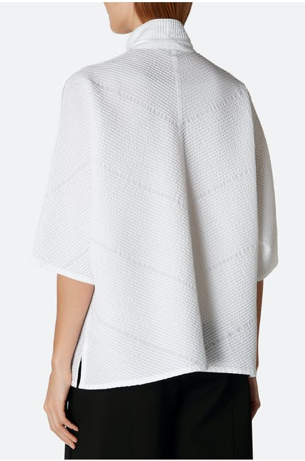 Micro Cotton Voile Shirt