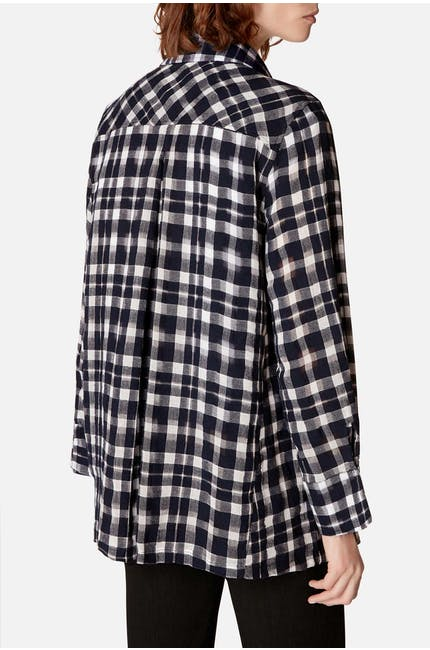 Vintage Check Swing Shirt