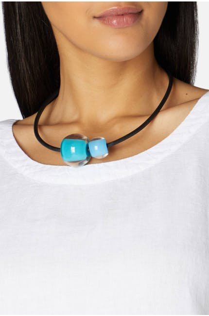 Duo Sphere Necklace