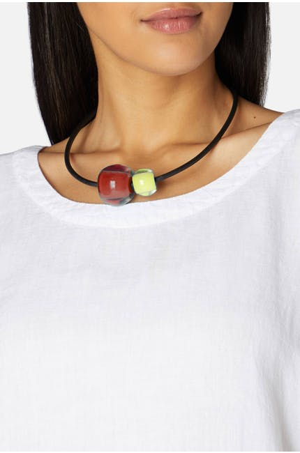 Photo of Duo Sphere Necklace