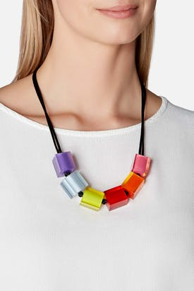 Photo of Six Cube Necklace