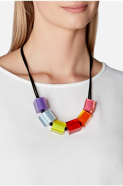 Six Cube Necklace