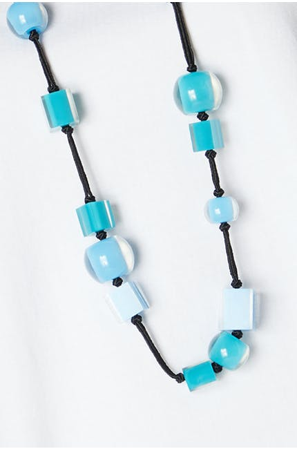 Photo of Long Multi Cube Necklace