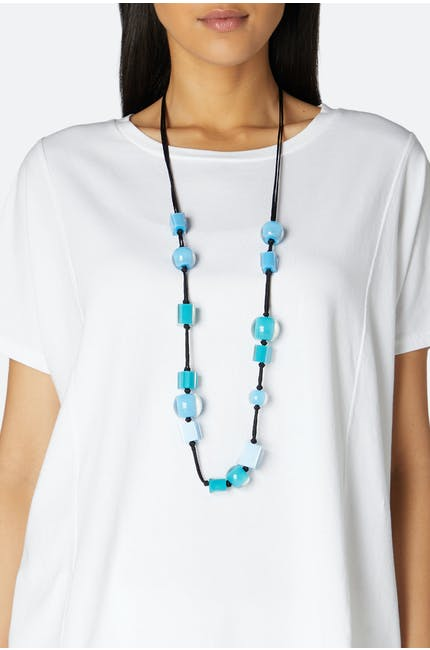 Long Multi Cube Necklace