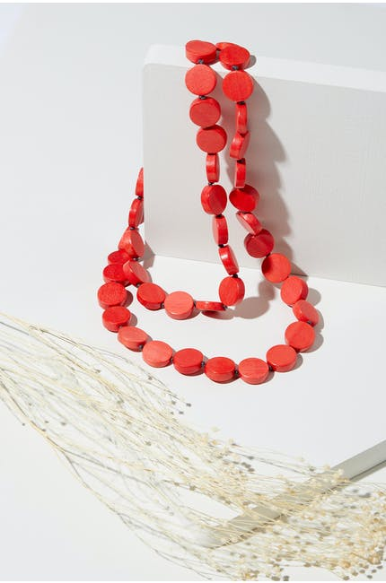 Photo of Long Mini Sphere Necklace